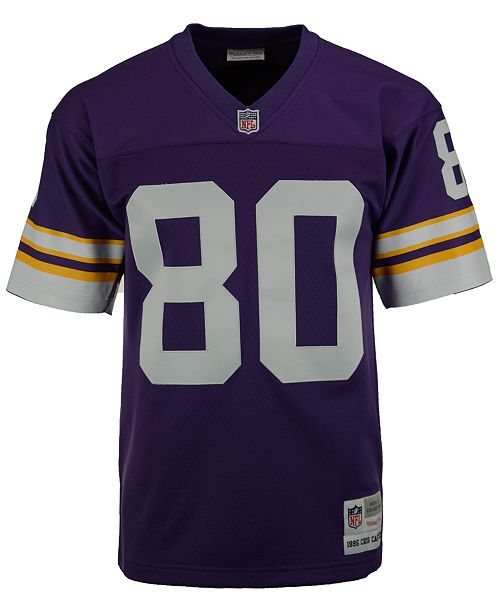 cheap for discount 366db 684f2 Men's Cris Carter Minnesota Vikings Replica Throwback Jersey