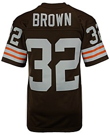 Men's Jim Brown Cleveland Browns Replica Throwback Jersey