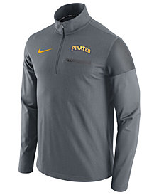 Nike Men's Pittsburgh Pirates Half-Zip Elite Pullover