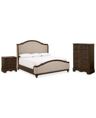 Madden Bedroom Furniture, 3 Pc. Set (California King Bed, Chest U0026  Nightstand), Created For Macyu0027s
