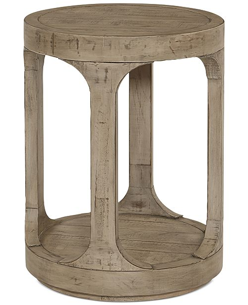 Furniture Derevo End Table Furniture Macy S