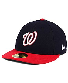 Washington Nationals Low Profile AC Performance 59FIFTY Cap