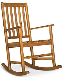 Falcan Outdoor Rocking Chair, Quick Ship