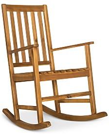 Falcan Outdoor Rocking Chair, Quick Ship