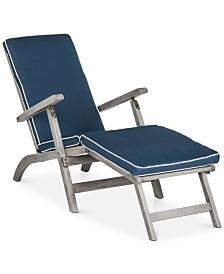 Holmen Outdoor Lounge Chair, Quick Ship
