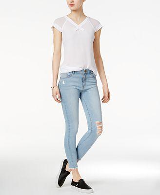 DL 1961 Farrow Instaslim Ripped Skinny Jeans