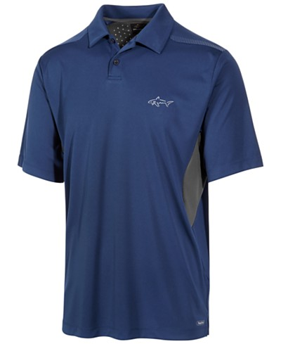 Greg Norman for Tasso Elba Men's Performance Sun Protection Polo, Created for Macy's