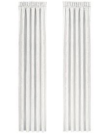 "Bianco 100"" x 84"" Pair of Window Panels"