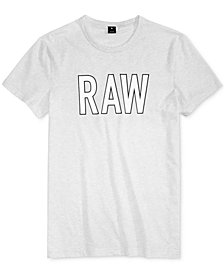 G-Star RAW Men's Tomeo Graphic-Print Logo T-Shirt