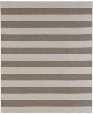"Portico Riviera Stripe  5'3"" x 7'10"" Indoor/Outdoor Area Rug"