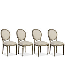 Tristan Dining Chair Set (4 Side Chairs), Created for Macy's