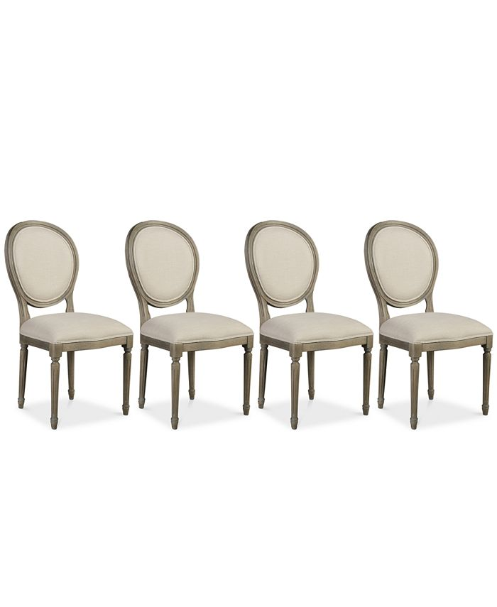 Furniture - Tristan Dining Chair Set (4 Side Chairs), Only at Macy's