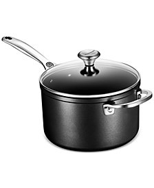 Le Creuset Toughened Non-Stick 4-Qt. Saucepan & Cover