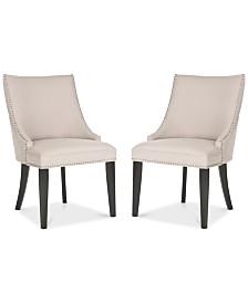 Haldi Set of 2 Dining Chairs, Quick Ship