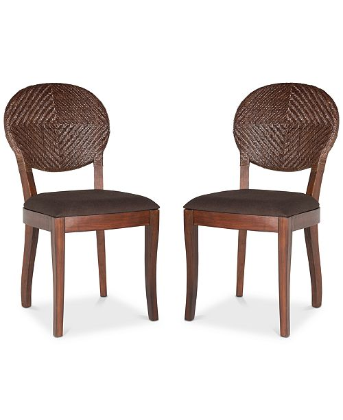 Safavieh Montie Set of 2 Dining Chairs