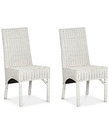 Matina Set of 2 Dining Chairs, Quick Ship