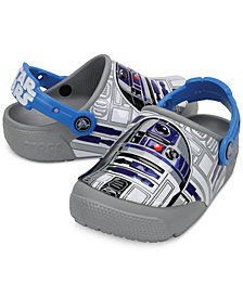 Crocs Fun Lab Lights Star Wars R2D2 Clogs, Baby, Toddler & Little Boys