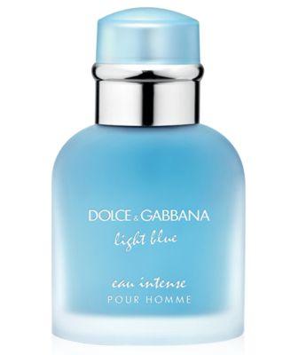 DOLCE&GABBANA Men's Light Blue Eau Intense Pour Homme Eau de Parfum Spray, 1.6 oz