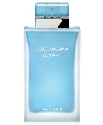 DOLCEu0026GABBANA Light Blue Eau Intense Eau De Parfum Spray, 3.3 Oz
