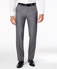 Men's Stretch Performance Solid Slim-Fit Pants, Created for Macy's
