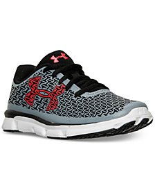 Under Armour Little Boys' ClutchFit RebelSpeed Running Sneakers from Finish Line