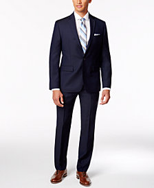 Ryan Seacrest Distinction Navy Suit Separates Modern Fit, Created for Macy's