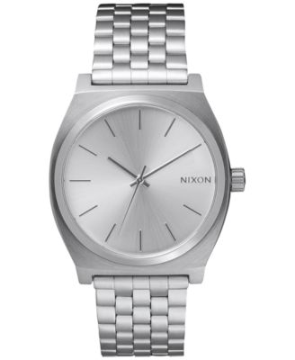 Image of Nixon Time Teller Stainless Steel Bracelet Watch 37mm A045