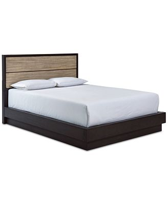 Furniture Closeout Adler Queen Platform Bed Created For Macy S