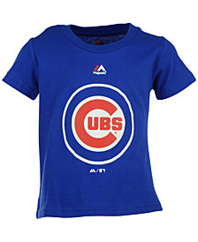 Majestic Chicago Cubs Primary Logo T-Shirt, Toddler Boys
