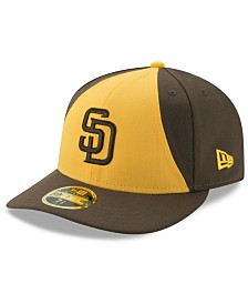 New Era San Diego Padres Low Profile AC Performance 59FIFTY Cap