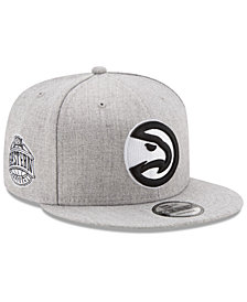 New Era Boys' Atlanta Hawks The Heather 9FIFTY Snapback Cap