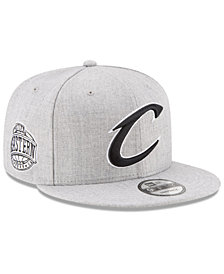 New Era Boys' Cleveland Cavaliers The Heather 9FIFTY Snapback Cap