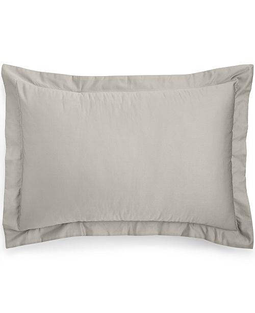 Charter Club Cotton 550-Thread Count Standard Sham, Created for Macy's