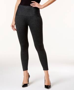 d670219648c2b LEONISA | Leonisa Women'S Firm Tummy-Control Compression Leggings 012910 |  Goxip