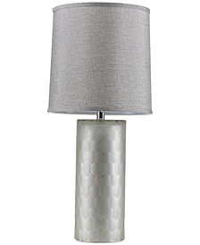 Madison Park Signature Deco Honeycomb Table Lamp