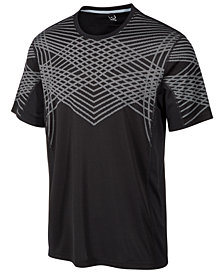 ID Ideology Jacquard Performance T-Shirt, Created for Macy's