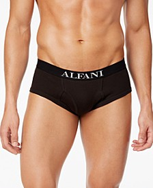 Men's Big & Tall 3-Pk. Cotton Briefs, Created for Macy's