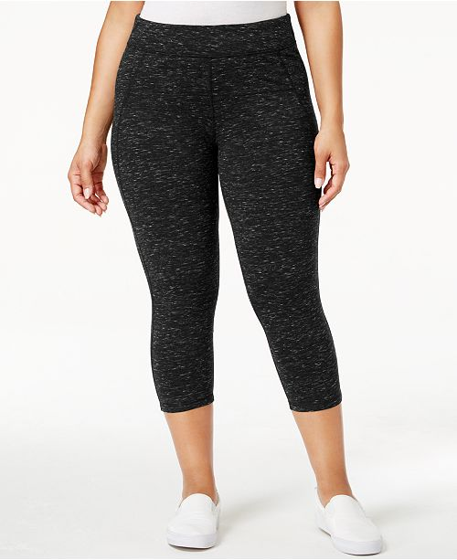 e56f0ad03dd77 Calvin Klein Plus Size Capri Leggings - Pants   Capris - Plus Sizes ...