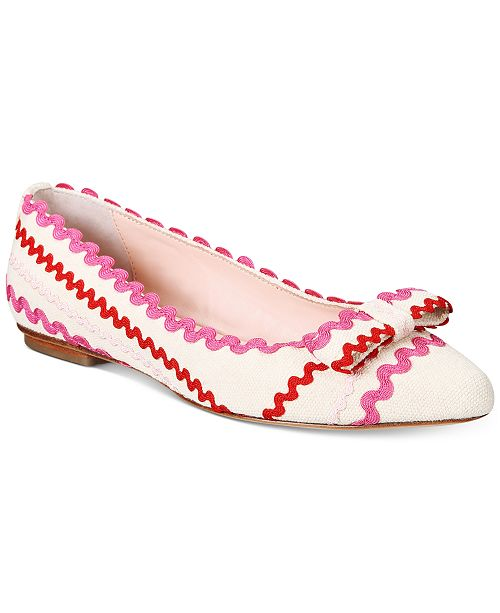 51803eb2ba7 kate spade new york Noreen Ballet Flats   Reviews - Flats - Shoes ...