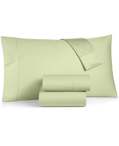 CLOSEOUT! Charter Club Damask Solid Sheet Sets, 550 Thread Count 100% Supima Cotton, Created for Macy's