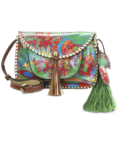 Patricia Nash Tropicana Summer Beaumont Small Flap Crossbody