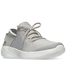 Skechers Women's You Lace-Up Casual Walking Sneakers from Finish Line
