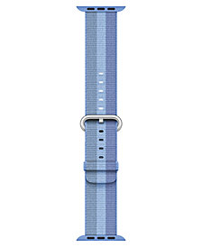 Apple Watch 38mm Tahoe Blue Woven Nylon Band