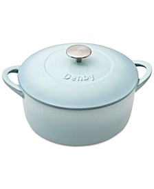 Heritage Pavilion Cast Iron 5.5 Qt. Round Covered Casserole