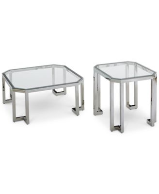 Madison Square Coffee Table Set, 2 Pc. Set (Square Coffee Table U0026