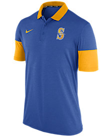 Nike Men's Seattle Mariners Dri-Fit Polo 1.7