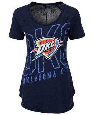 Majestic Women s Oklahoma City Thunder Fanatic Force T-Shirt - Sports Fan  Shop By Lids - Men - Macy s a9a726ef95