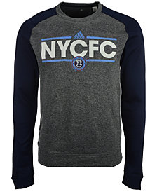 adidas Men's New York City FC Dassler Local Crew Sweatshirt