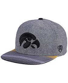 Top of the World Iowa Hawkeyes Tarnesh Snapback Cap