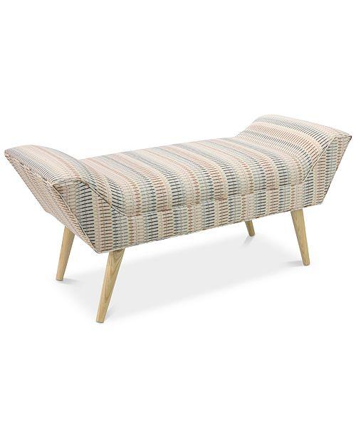 Furniture Clair Bench, Quick Ship